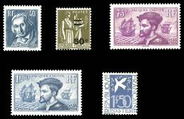 N°294 à 298, Année 1934 Complète, Les 5 Valeurs TB  Qualité: **  Cote: 434 Euros - Unused Stamps