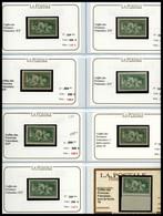 N°1929/1945, 1929-1945, SEMI-MODERNES (N°253 à 701F): Beau Stock Neuf Principalement ** Presenté Sur Fiches Individuelle - Verzamelingen