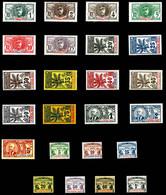 Série Palmiers: N°1 à 17 + Taxe N°1 à 7, Les 24 Valeurs TB (certificat)  Qualité: *  Cote: 551 Euros - Neufs