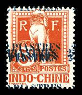N°30b, 2 Pi Sur 5f Rouge: Quintuple Surcharge. SUP (signé Brun/certificat)  Qualité: *  Cote: 300 Euros - Postage Due