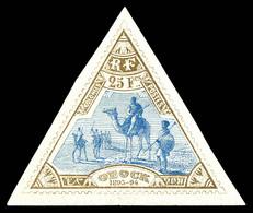 N°63, 25f Bistre Et Bleu. SUP (certificat)  Qualité: *  Cote: 1000 Euros - Unused Stamps