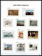 1986-2020 Poste/PA/Taxe, Collection Quasi Complète De Timbres Neufs ** Presentée En Album DAVO. TTB  Qualité: ** - Collections, Lots & Séries