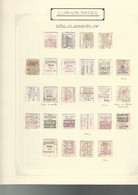 1877 A 1891. STAMPS WITH PUBLICITY IN THE REVERSE .-YV Nº 60 (26 +4x +BLOC 15), 61 (26), 62 (5), 63 (2), 64 (5), 65 (1), - Sin Clasificación
