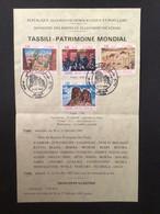 ALGÉRIE : Notice Philatélique - 1er Jour 1983 - Environment & Climate Protection