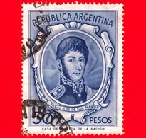 ARGENTINA - Usato -  1956 - General José Francisco De San Martin (1778-1850) - 50 - Oblitérés