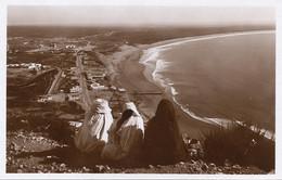Real Photo Agadir La Plage Et La Baie - Agadir