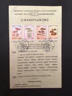 ALGÉRIE : Notice Philatélique - 1er Jour 1983 - Mushrooms