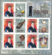 FRANCE : Bloc Feuillet F4024A  Harry Potter Oblitéré 1er Jour De La Faute Sur Mer 10 03 2007 - Gebraucht