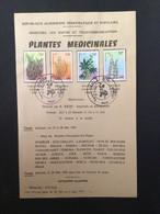 ALGÉRIE : Notice Philatélique - 1er Jour 1982 - Environment & Climate Protection