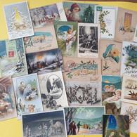 LOT DE 25 CARTES NOEL - 5 - 99 Postales