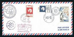 TAAF / FSAT 1972 PLI I.A.G.P. II OBLITÉRÉ PARIS, MC MURDO (U.S. NAVY) ET TERRE ADÉLIE - Covers & Documents