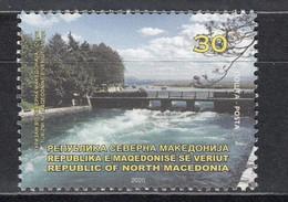 Macedonia Mazedonien 2020  MNH ** Ma 857 Tourism Forest Waterfall - Macedonia