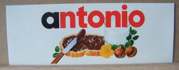 ADESIVI NUTELLA NOMI, ANTONIO - Nutella