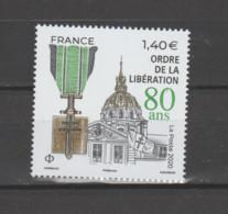 FRANCE / 2020 / Y&T N° 5454 ? ** : 80 Ans De L'Ordre De La Libération X 1 - Ongebruikt