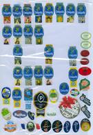 Lot De 740 étiquettes Fruits (Labels) - Frutas Y Legumbres