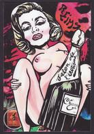 CPM Timbre Monnaie Par Jihel Tirage Signé 30 Ex Numérotés Signés Reims Nude Nu Féminin érotisme - Coins (pictures)