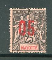 MAYOTTE- Y&T N°25- Oblitéré - Used Stamps