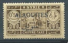 Alaouites Timbres-taxe YT N°6 Hama Surchargé Alaouites Neuf ** - Neufs