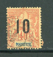 MAYOTTE- Y&T N°27- Oblitéré - Used Stamps