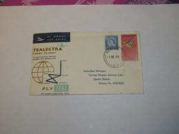 New Zealand First Flight Cover To Australia Auckland - Sydney 1959 - Non Classificati