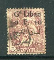 GRAND LIBAN- Y&T N°22- Oblitéré - Used Stamps