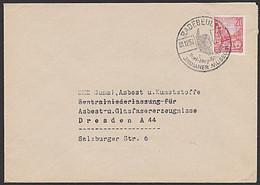 Karl May Indianer Museum Radebeul DDR Werbestempel 1957 Häuptling Der Appachen Karl-May-Stiftung - Marcofilia - EMA ( Maquina De Huellas A Franquear)
