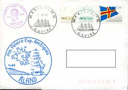 Ass. Polaire Exp Arctiques - Aland 1984 - Navire MarieHamn - 7-8-84 - Expéditions Arctiques