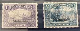 België, 1920 -- OC75 + OC76 ʘ, OBP 93€ - [OC55/105] Eupen/Malmedy