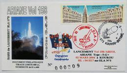 Enveloppe Philatélique ARIANE Vol 158 Rosetta , 2 Mars 2004 - Europa