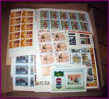 Départ 1 Euro - Lot 4a TB Stock/lot Thématique 1000 Blocs / Séries Complètes  Jeux Olympiques Animaux Napoleon Birds - Vrac (min 1000 Timbres)