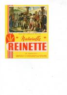 Buvard Reinette Naturelle - Bonaparte Visitant Les Pestiférés De Jaffa 1779, Par Gros - R