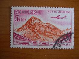 Andorre Obl  N° PA 7 - Poste Aérienne