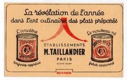 Buvard La Révélation De L'année Dans L'art Culinaire Des Plats Préparés Tripes à La Mode De Caen - Ets Taillandier - T