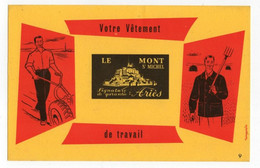 Buvard Votre Vêtement De Travail Le Mont Saint Michel - Ariès - V