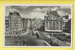* Amsterdam (Noord Holland - Nederland) * (Uitgave Rembrandt, Nr 5) C. Damrak, Tram, Vicinal, Animée, Old Rare - Amsterdam