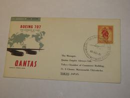 Australia First Flight Cover To Japan Sydney - Tokyo  1961 - Non Classificati
