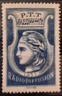 France 1935-37 Radiodiffusion N°1 ( * ) TB - Radiodiffusion