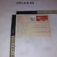 FB3714 SVIZZERA INTERO POSTALE PREAFFRANCATO 40 C. + 1 VALORE TIMBRO OLMA DA ST GALLEN A AMBURGO 1977 - Enteros Postales