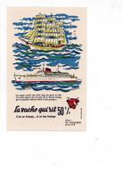 Buvard La Vache Qui Rit - Série Les Transports N°2 - V