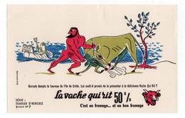 Buvard La Vache Qui Rit - Travaux D'Hercule N°7 - V