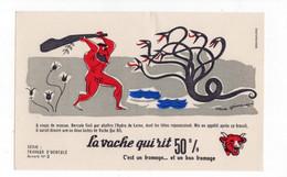 Buvard La Vache Qui Rit - Travaux D'Hercule N°5 - V