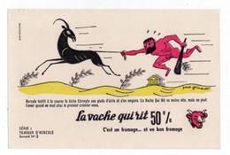 Buvard La Vache Qui Rit - Travaux D'Hercule N°2 - V