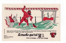 Buvard La Vache Qui Rit - Travaux D'Hercule N°1 - V