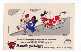 Buvard La Vache Qui Rit - Série Les Duels N°8 - V