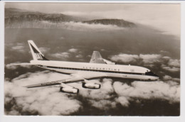 Vintage Rppc UAT UNION AEROMARITIME DE TRANSPORT Douglas Dc-8 Jet Aircraft - 1946-....: Modern Era