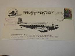 Australia First Flight Cover To Australia Parafield Gardens - Melburne 1996 - Non Classificati