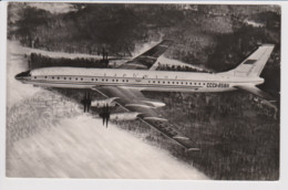 Vintage Rppc Russian Aeroflot CCCP Tupolev 114 Aircraft - 1946-....: Modern Era