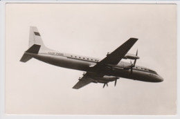 Vintage Rppc Aeroflot CCCP Ilyushin Il-18 Aircraft - 1946-....: Modern Era