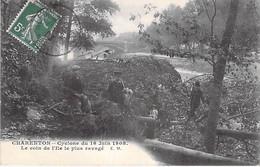 EVENEMENT Event CATASTROPHE - 94 CHARENTON Cyclone Du 15 Juin 1908 - Le Coin De L'Ile Le Plus Ravagé - CPA Val De Marne - Rampen