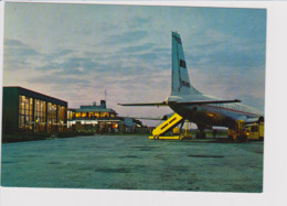 Vintage Rppc Tarom Iljusin Il-18 Aircraft @ Maastricht Airport - 1946-....: Modern Era